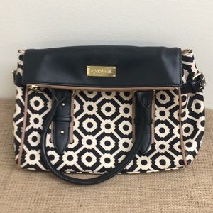 Spartina 449 Cloth & Leather Print Purse